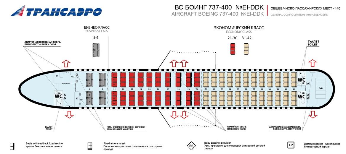 Боинг 737-400 Трансаэро