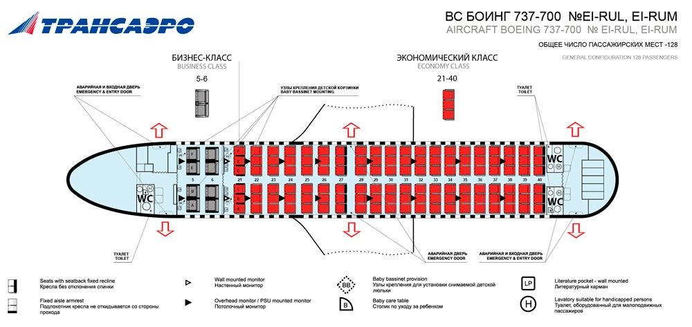 Боинг 737-700 Трансаэро