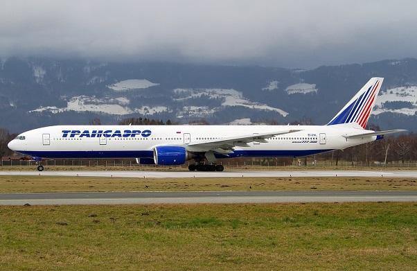 Боинг 777-300 Трансаэро