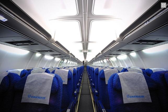 Парк самолетов авиакомпании россия, схема салона, фото.