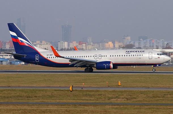 737-800 аэрофлот схема
