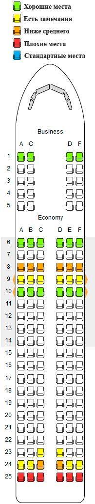 Схема кресел в самолете фото 663