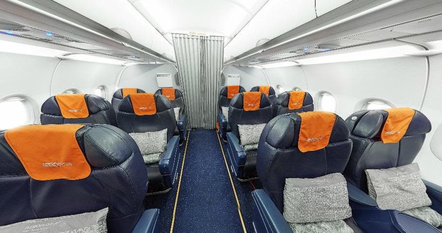 Аэробус а320 аэрофлот схема салона