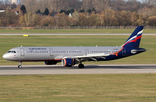 Аэробус A321 Аэрофлот - схема