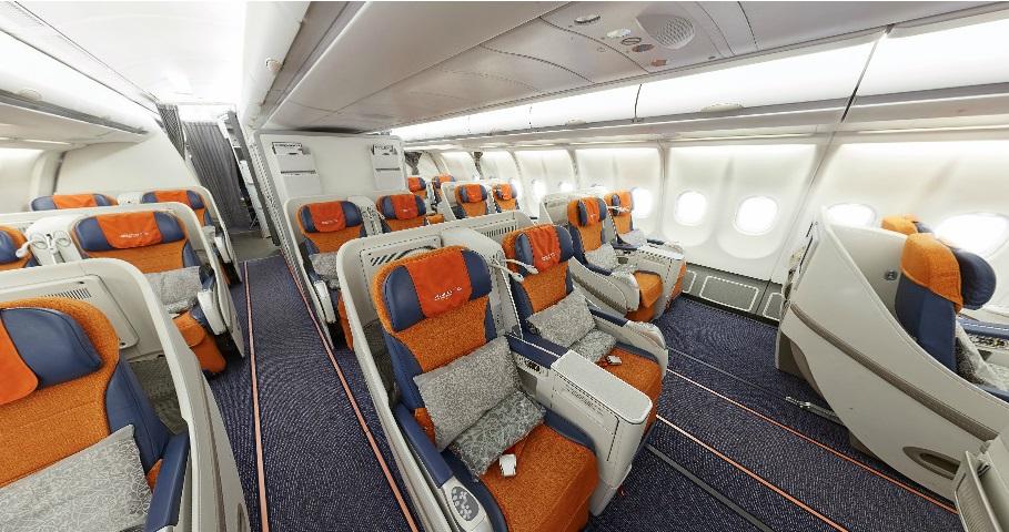 полет аэрофлот бизнес a330-300