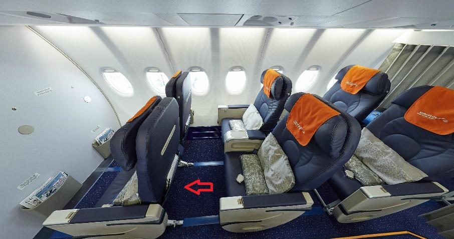 Суперджет 100 схема салона аэрофлот.
