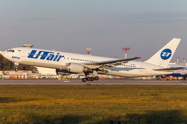 Боинг 767-300 Ютэйр - схема