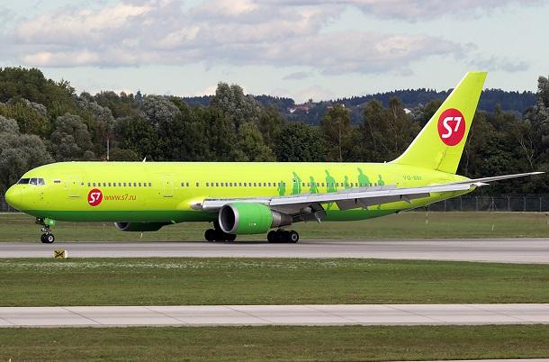 Боинг 767-300 S7 - схема