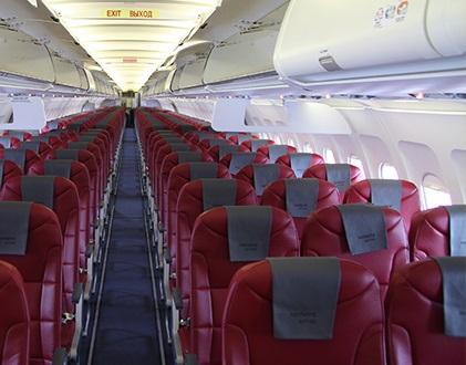 Аэробус A321 Норд Винд - схема