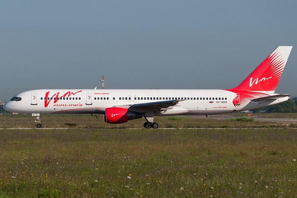 Боинг 757-200 Вим-авиа - схема
