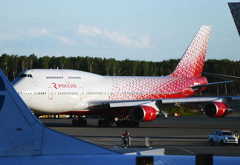 Боинг 747 400 Россия схема салона