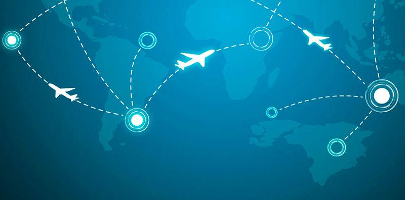 Карта полетов самолетов онлайн в реальном времени