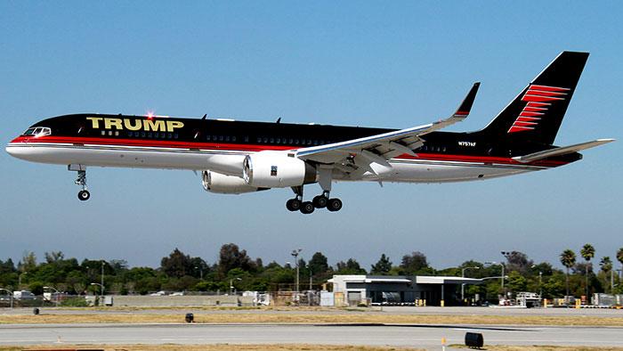 Боинг 757 Дональда Трампа