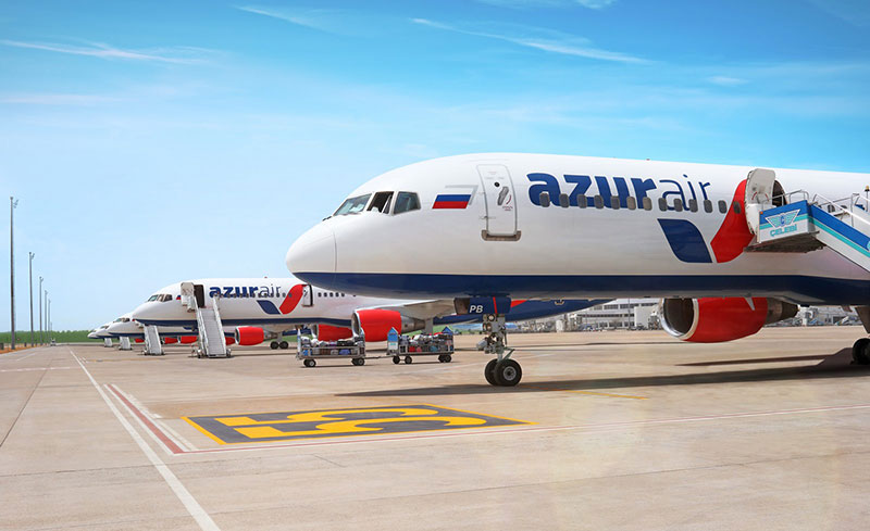 Азур Эйр авиакомпания официальный сайт