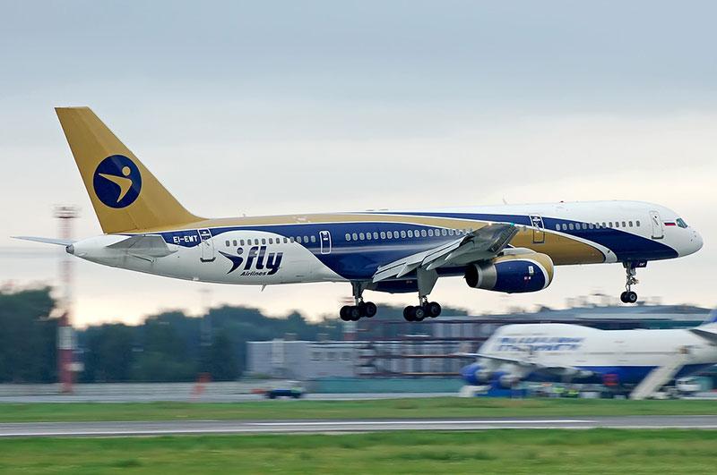 Боинг 757-200 авиакомпании Ай Флай