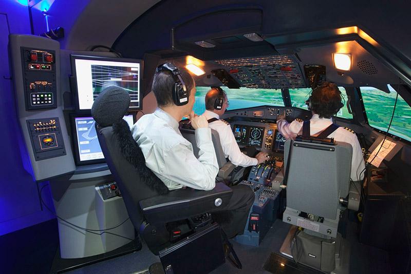 Обучение пилотов на симуляторе