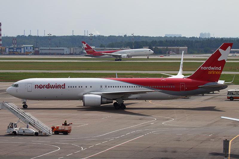 Боинг 767-300 авиакомпании Норд Винд