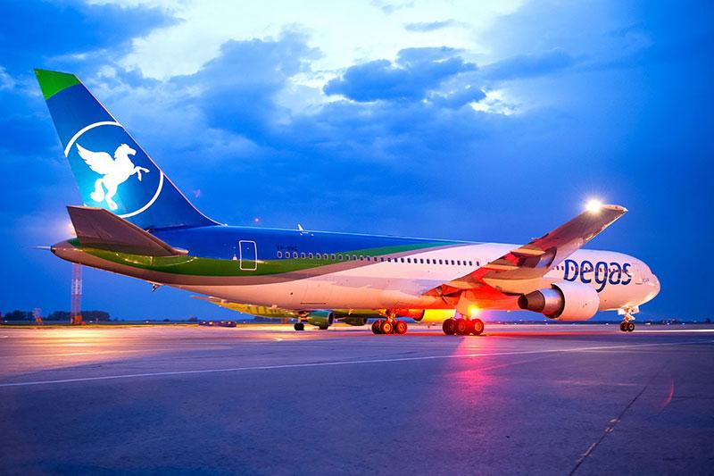 Боинг 767-300 Пегас Флай