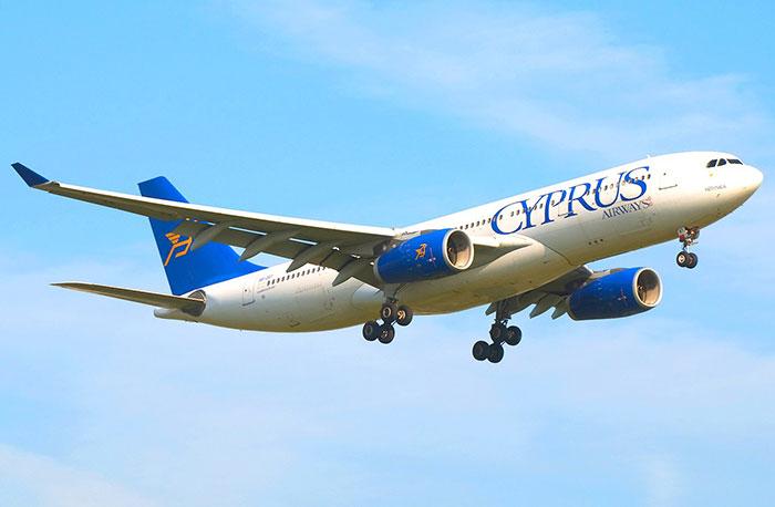 Время полета Москва – Кипр