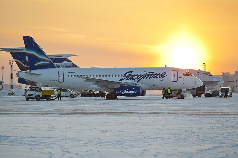Sukhoi Superjet 100 Якутских авиалиний