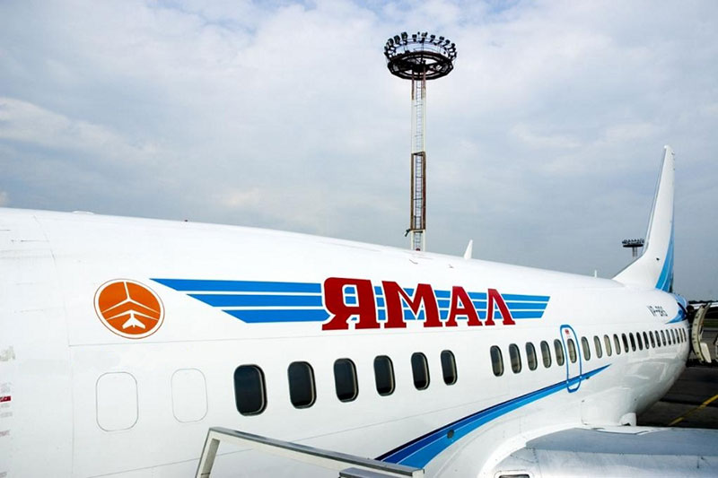 Боинг 737-500 авиакомпании Ямал