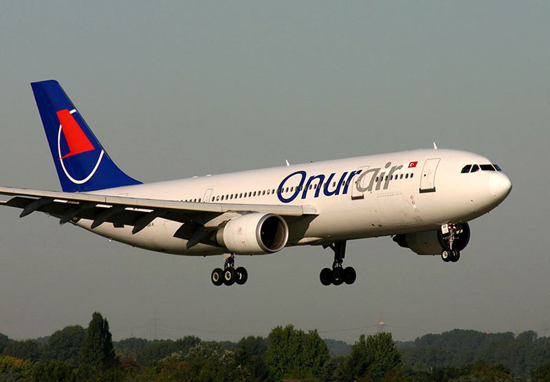 Airbus A320 авиакомпании Онур Эйр