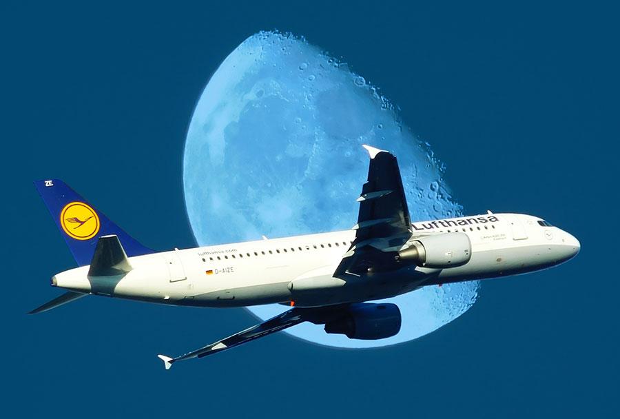 Высота полета пассажирского самолета
